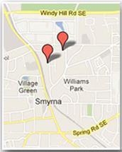 Google Map Riley's Walk